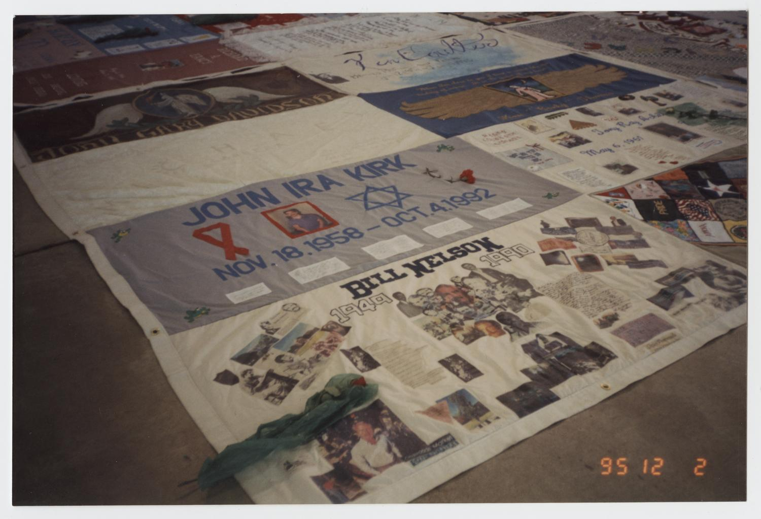 [Memorial Quilt]                                                                                                      [Sequence #]: 1 of 2