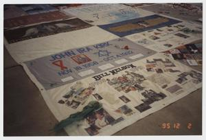 Primary view of object titled '[Memorial Quilt]'.