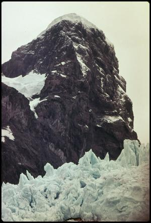 Primary view of object titled 'Balmeceda glacier'.