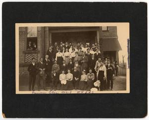 Primary view of object titled '[Junior Class, 1902-03, North Texas State Normal College]'.