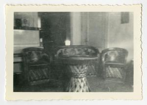 Primary view of object titled '[Decorative furniture]'.