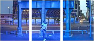 Primary view of object titled '[Blue girl]'.