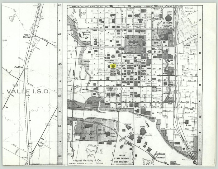 Aerial map of Austin, Texas] - The Portal to Texas History on map of nevada las vegas, map of florida gainesville, map of ohio dayton, map of north carolina, map of oregon eugene, map of wyoming cheyenne, map of washington, map of wisconsin milwaukee, map of kentucky, map of colorado denver, mapquest texas austin, map of ohio cincinnati, map of tennessee nashville, map of new york brooklyn, map of pennsylvania, map of new york binghamton, map of rhode island providence, map of new york syracuse, map of new york new york city, map of oklahoma oklahoma city,