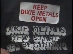 News Clip: Dixie Metals, Dixie Metals pkg, NBC News Clips
