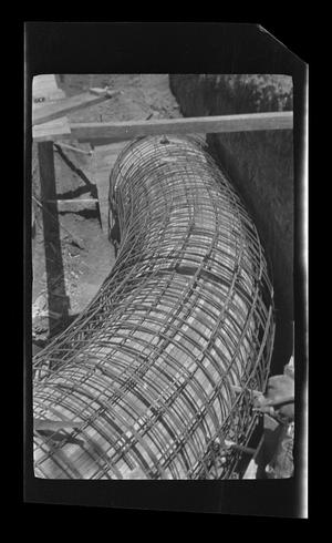 Primary view of object titled '[Photo of a pipeline]'.