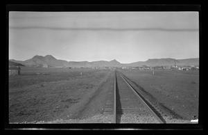 Primary view of object titled '[Photo of a railroad]'.