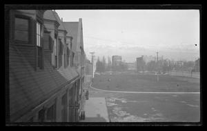 Primary view of object titled '[View of Wall Avenue in Ogden, Utah]'.