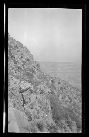 Primary view of object titled '[A hilly landscape]'.