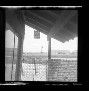 Primary view of object titled '[Photo of a back porch]'.
