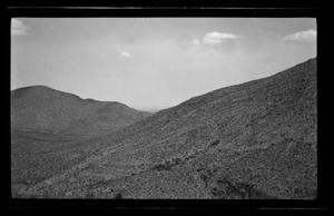 Primary view of object titled '[Landscape of a hillside]'.
