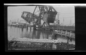Primary view of object titled '[A drawbridge]'.