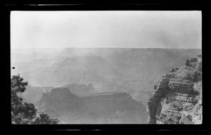 Primary view of object titled '[Landscape of a canyon]'.