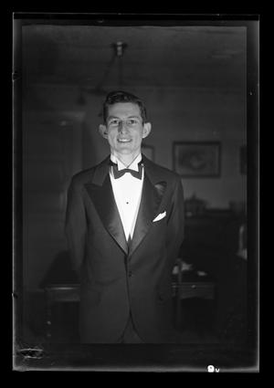 Primary view of object titled '[Photo of John Williams in a tuxedo]'.