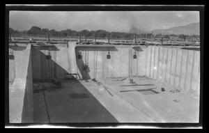Primary view of object titled '[An underground construction site]'.
