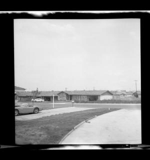 Primary view of object titled '[Photo of a neighborhood]'.