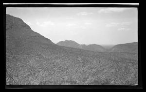 Primary view of object titled '[Mountainous landscape]'.