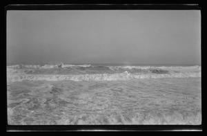 Primary view of object titled '[A seascape from a beach]'.