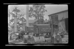 Primary view of object titled '[Photo of construction equipment]'.