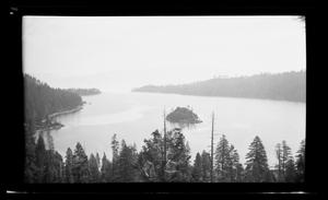 Primary view of object titled '[Photo of a lake landscape]'.
