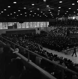 "Primary view of object titled '[Commencement Ceremony at the ""Snake Pit"", 1]'."
