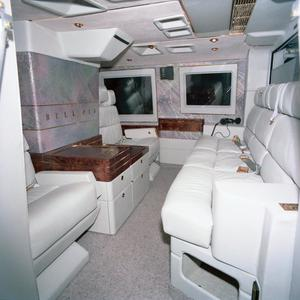 Primary view of object titled '[Interior of the Bell 412SP]'.