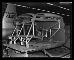Primary view of object titled '[XH-40 cabin roof and fixture]'.