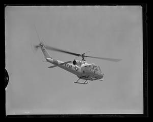 Primary view of object titled '[The Bell YH-40 in flight]'.