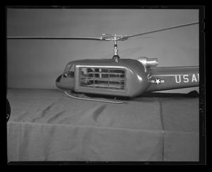 Primary view of object titled '[Model of an H-40 troop carrier]'.