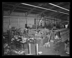 Primary view of object titled '[Wide view of the Bell plant during the construction of the XH-40]'.