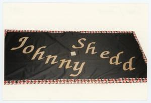 Primary view of object titled '[AIDS Memorial Quilt Panel for Johnny Shedd]'.