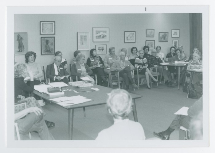 Group at Shasta College During a Discussion] - The Portal to Texas ...