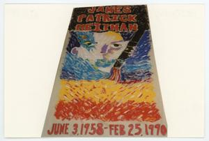 Primary view of object titled '[AIDS Memorial Quilt Panel for James Patrick Heitman]'.