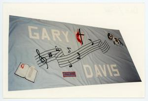 Primary view of object titled '[AIDS Memorial Quilt Panel for Gary Davis ]'.