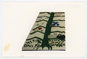 Primary view of object titled '[AIDS Memorial Quilt Panel for Kenneth James Warren]'.