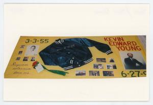 Primary view of object titled '[AIDS Memorial Quilt Panel for Kevin Edward Young]'.