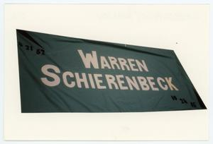 Primary view of object titled '[AIDS Memorial Quilt Panel for Warren Schierenbeck]'.
