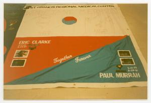 Primary view of object titled '[AIDS Memorial Quilt Panel for Eric Clarke]'.