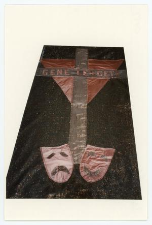Primary view of object titled '[AIDS Memorial Quilt Panel for Gene Leggett]'.