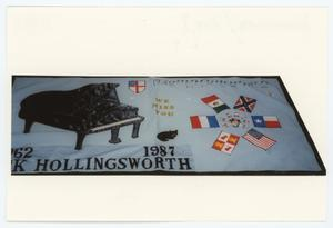 Primary view of object titled '[AIDS Memorial Quilt Panel for Rick Hollingsworth]'.