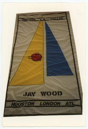 Primary view of object titled '[AIDS Memorial Quilt Panel for Jay Wood]'.