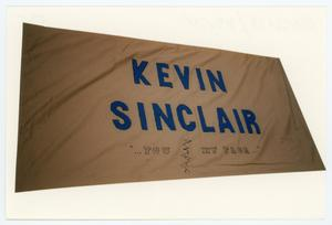 Primary view of object titled '[AIDS Memorial Quilt Panel for Kevin Sinclair]'.