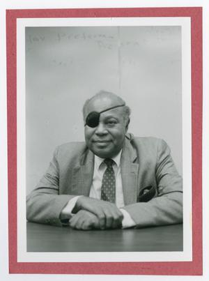 Primary view of object titled '[Photograph of James Farmer]'.