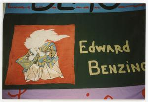 Primary view of object titled '[AIDS Memorial Quilt Panel for Edward Benzing]'.