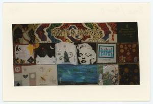 Primary view of object titled '[AIDS Memorial Quilt Panel for Kevin D. Badley]'.