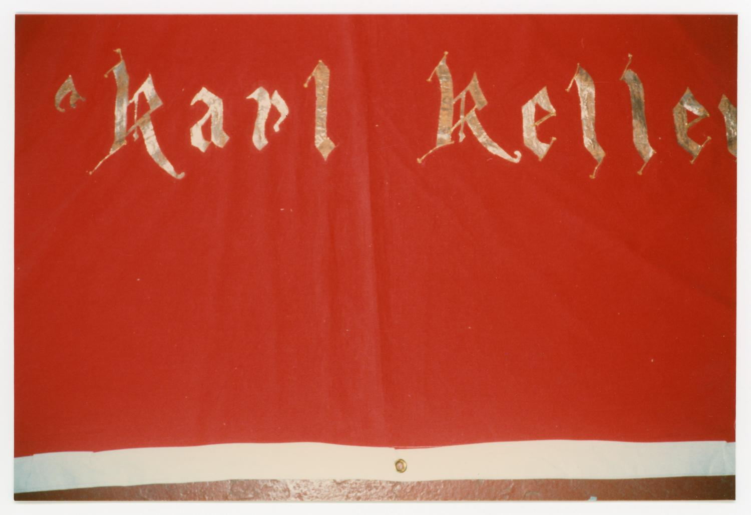 [AIDS Memorial Quilt Panel for Karl Keller]                                                                                                      [Sequence #]: 1 of 2