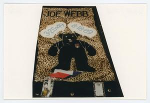 Primary view of object titled '[AIDS Memorial Quilt Panel for Joe Webb]'.
