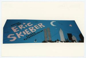 Primary view of object titled '[AIDS Memorial Quilt Panel for Eric Skieber]'.