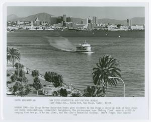 Primary view of object titled '[San Diego Harbor Excursion Boats]'.