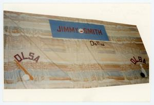 Primary view of object titled '[AIDS Memorial Quilt Panel for Jimmy Smith]'.