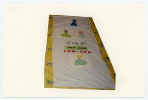 Primary view of object titled '[AIDS Memorial Quilt Panel for Wally Smith]'.